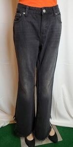 FREE PEOPLE Vintage-Inspired Frayed Flared size 27
